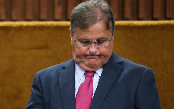 Geddel Vieira Lima, ex- Ministro-chefe da Secretaria de Governo no governo de Michel Temer (Foto: ANDRE COELHO / Agencia O Globo)