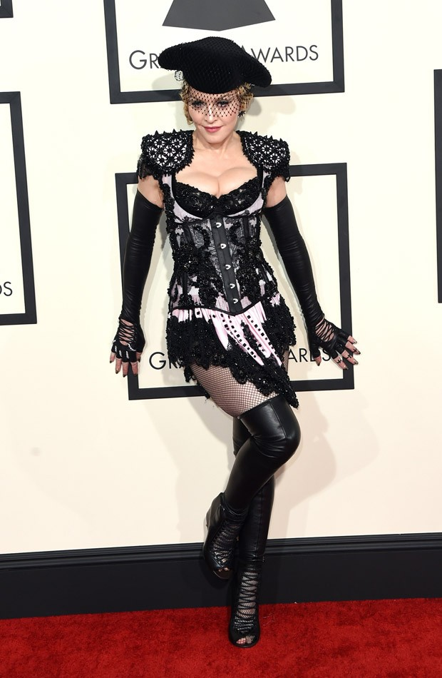Madonna no Grammy Awards 2015 (Foto: Getty Images)
