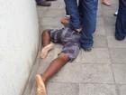 Jovem é agredido após tentar roubar (Amanda Monteiro/TV Gazeta)