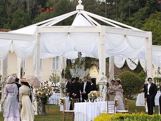 decoracao para casamento no jardim : decoracao para casamento no jardim: – Aprenda a fazer uma festa de casamento como a de Laura e Edgar