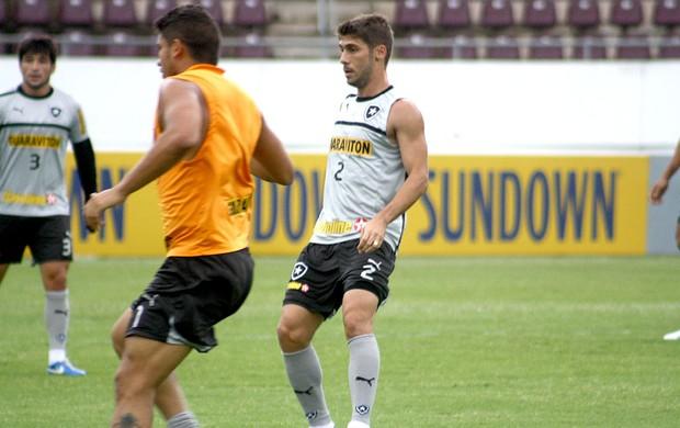 Fellype Gabriel no treino do Botafogo (Foto: Cleber Akamine / Globoesporte.com)