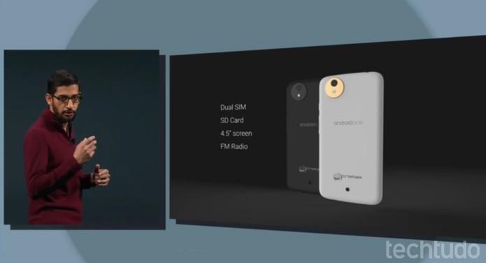 Android One, o novo smartphone do Google (Foto: Reprodução / Google)