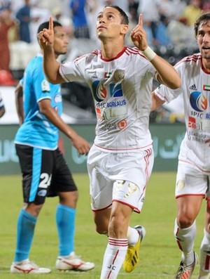 Ricardo Oliveira gol Al Jazira (Foto: Divulgação)