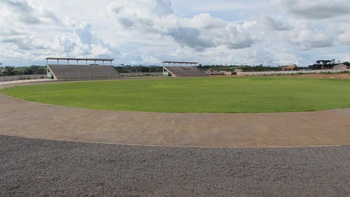 Estádio de Cacoal da Vila Olímpica (Foto: Romeu Moreira/Arquivo pessoal)