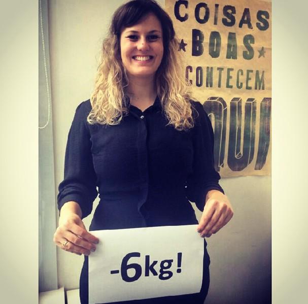 #Projeto Casamento: Yes!!!!! Seis quilos já foram embora!!!