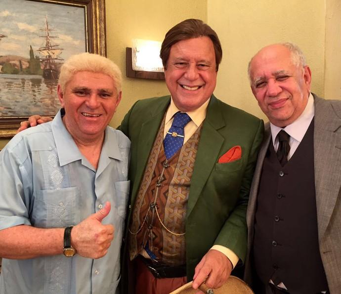 Batoré contracenará com Antonio Fagundes e Saulo Laranjeira (Foto: Arquivo Pessoal)