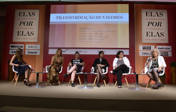 Cristine Kist, Alexandre Vasconcelos, Carol Patrocinio, Daniela Andrade, Desiree Cordeiro, e Leticia Lanz (Foto: Fabio Cordeiro)