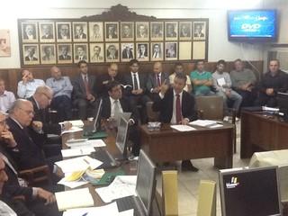 tjd julgamento passo fundo gauchão (Foto: Julio Cesar Santos/RBS TV)