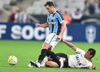Bobô, Corinthians x Grêmio (Foto: Marcos Ribolli)