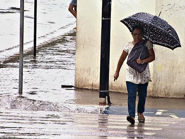 Tempo chuva  (Foto: Reprodução/Rede Amazônica Acre)