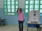 Max Filho (PSDB) vota em Vila Velha nesta manhã