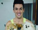 """Paixão por cães e Fla, e """"irmão"""" de Bia e Branca: Selfie Olímpico com Hypolito"""