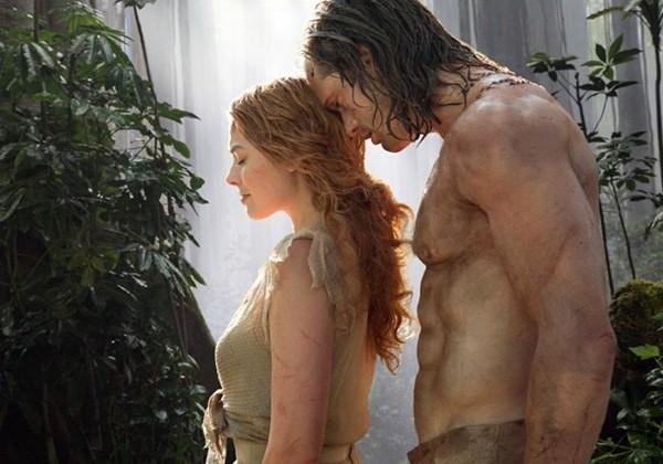 Alexander Skarsgård e Margot Robbie em 'A Lenda de Tarzan' (2016) (Foto: Divulgação)