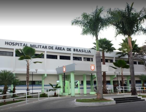 O Hospital Militar de Área de Brasília (Foto: Reprodução/Google Street View)