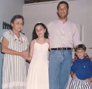 Hélio dos Anjos - família (Foto: Arquivo Pessoal)