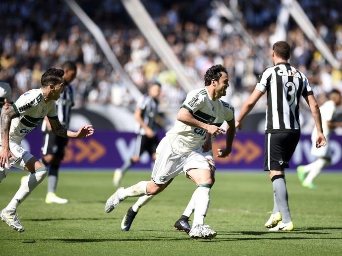 Kléber Gladiador Botafogo x Coritiba (Foto: André Durão/GloboEsporte.com)