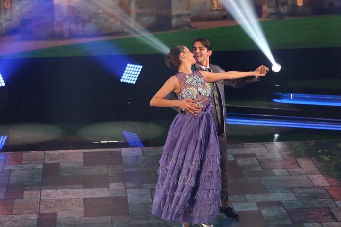 Brenno e Rachel brilham no 'Dança dos Famosos' (Foto: Carol Caminha/Gshow)