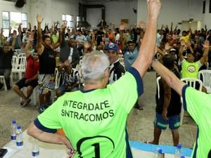 Assembleia definiu greve na Codesavi para terça-feira (Foto: Vespasiano Rocha/Divulgação)
