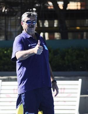 Ratko Rudic - técnico seleção de polo aquático (Foto: Marcos Ribolli)