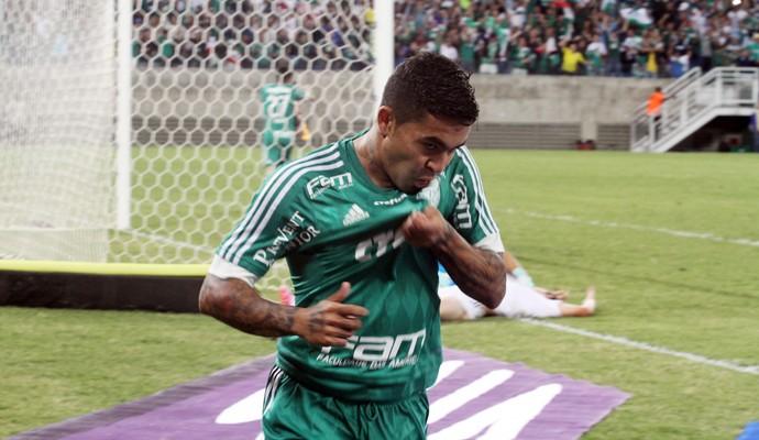 Dudu gol Palmeiras x Ponte Preta (Foto: Chico Ferreira/Futura Press)