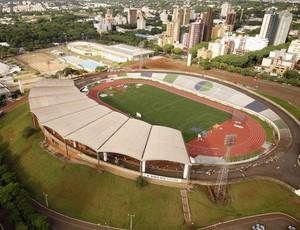 Estádio Willie Davids, de Marigá (Foto: Site da Prefeitura de Maringá/Divulgação)