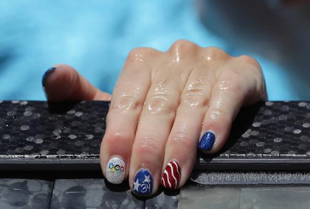 Allison Schmitt, da equipe americana de natação (Foto:  Ronald Martinez / Getty Images)