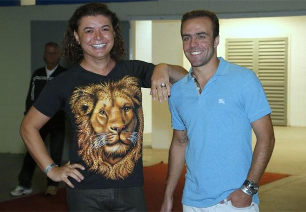 David Brazil e Roger Flores (Foto: Roberto Filho/AgNews)