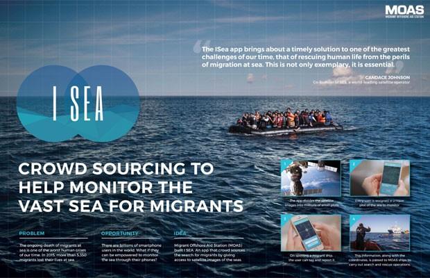 App para ajudar refugiados ganha prêmio em Cannes, mas não funciona (Foto: Divulgação)