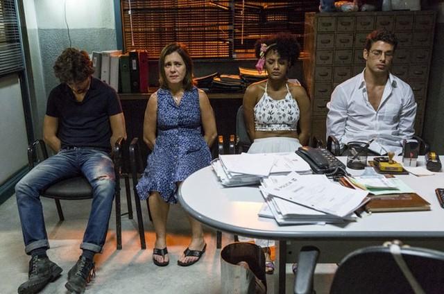 Cena de 'Justiça' (Foto: Ellen Soares/Gshow)
