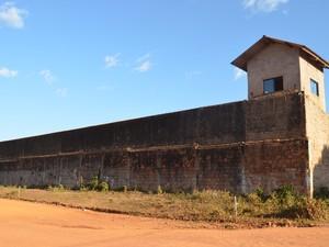 Presídio de Cacoal, RO (Foto: Rogério Aderbal/G1)