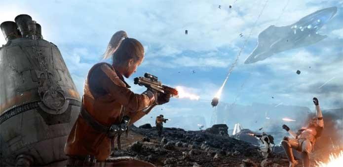 Star Wars Battlefront leva a luta de Rebeldes e Império aos games (Foto: Divulgação/EA)