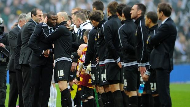 muamba Bradford City x Swansea City (Foto: Getty Images)