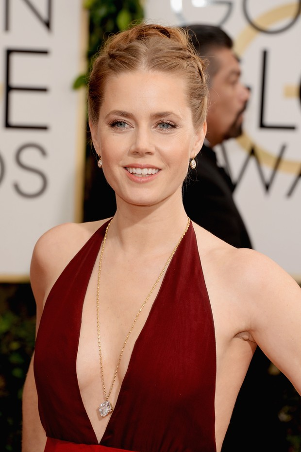 Amy Adams no Globo de Ouro 2014 (Foto: Getty Images)