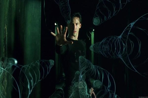 Cena de 'Matrix', com Keanu Reeves (Foto: Divulgação)