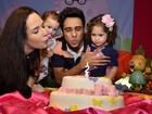 Vídeo: Perlla comemora os 2 anos da filha com festa e bênção evangélica