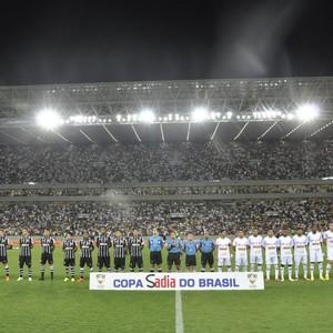 Bragantino x Corinthians na Arena Pantanal (Foto: Christian Guimarães)
