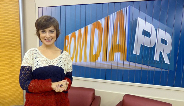 Bom Dia Paraná Giselle Camargo (Foto: Divulgação/ RPC TV)