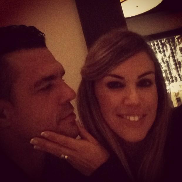 Vitor Belfort e Joanna Prado (Foto: Reprodução do Instagram)