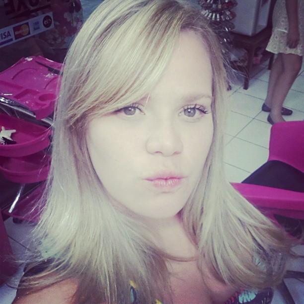 Paulinha ex-BBB de novo visual (Foto: reprodução do Instagram)