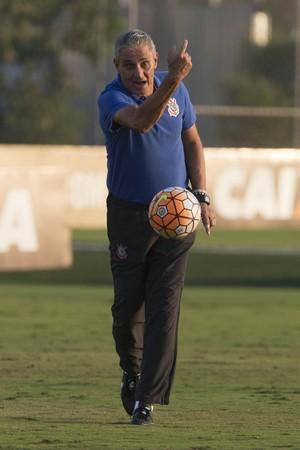 Tite treino Corinthians (Foto: Daniel Augusto Jr / Agência Corinthians)