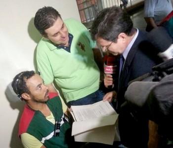 Joinville x Portuguesa  (Foto: Karen Couto/RBS TV)