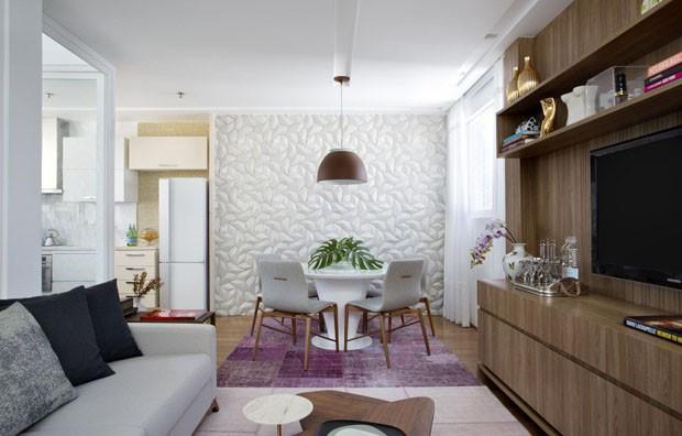 10 salas de jantar pequenas para se inspirar casa vogue for Decorar apartamento pequeno fotos