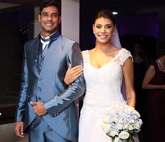 A festa do casório de Diego e Fran contou com pelo menos 260 convidados e teve ex-BBB na lista (Foto: Isabella Pinheiro/Gshow)