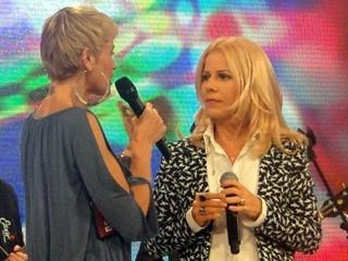 Kid Abelha toca no TV Xuxa (Foto: Divulgação/TV Globo)