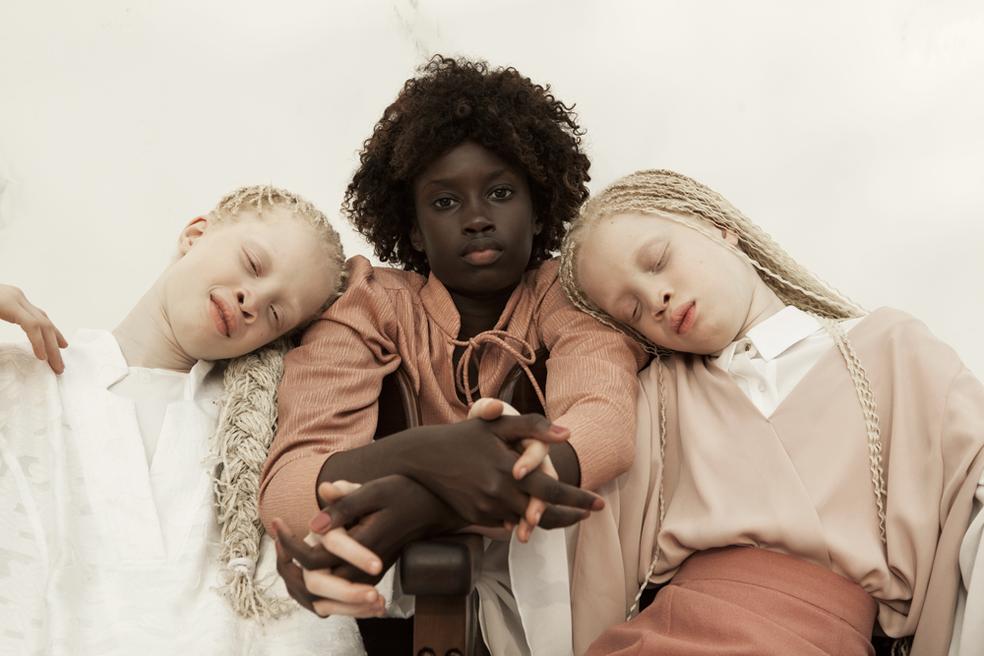Irmãs Lara, Sheilla e Mara são sucesso na moda (Foto: Vinicius Terranova/Bawar)