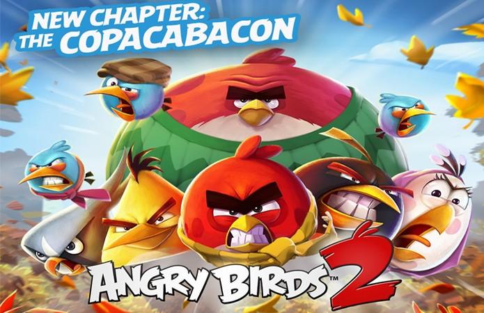Angry Birds 2 faz uma pequena homenagem ao Brasil ao atingir 800 fases com atualização Copacabacon (Foto: Reprodução/Angry Birds 2)