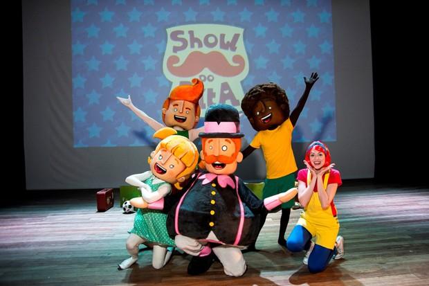 Os personagens ganham a companhia da cantora Flora (Foto: Divulgação)