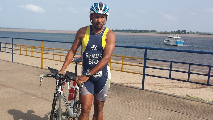 Ribamar Arruda triatleta (Foto: Weldon Luciano/GloboEsporte.com)
