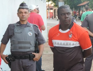 Hélio Geraldo integrante comissão Bandeirante de Birigui (Foto: Ronaldo Nascimento / GloboEsporte.com)