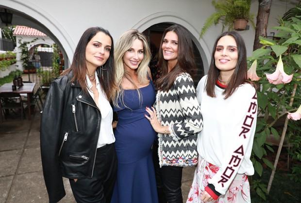 Fernanda Motta, Mariana Weickert, Daniella Sarahyba e Cássia Ávila (Foto: Divulgação)